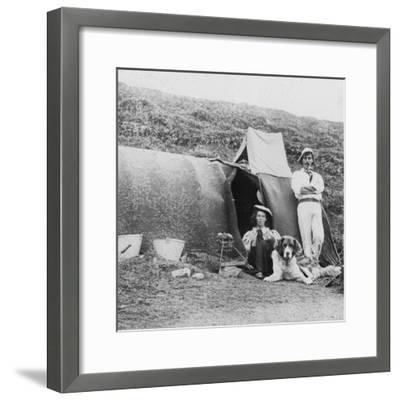 Camping, Early 20th Century--Framed Photographic Print