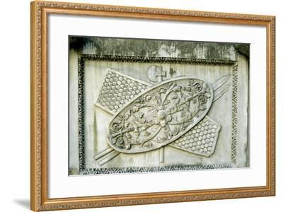 Roman Relief--Framed Photographic Print