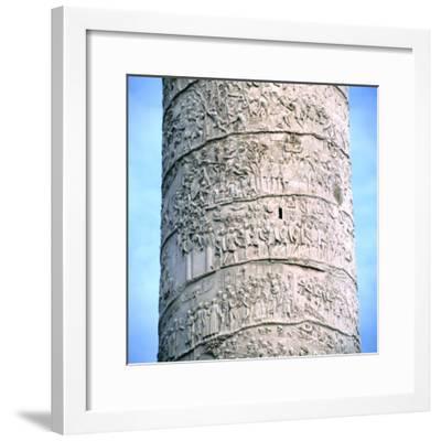 Trajan's Column, Rome, 106-113--Framed Photographic Print