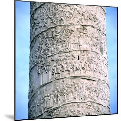 Trajan's Column, Rome, 106-113--Mounted Photographic Print