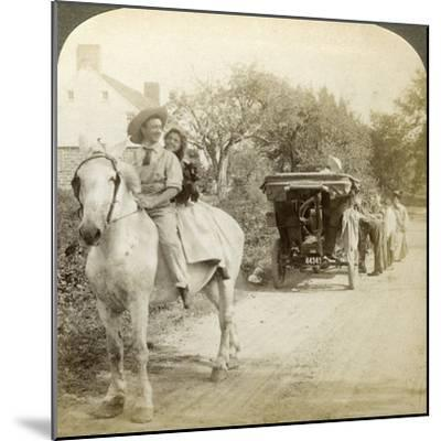 The Old Time Sparking Plug Is the Best after All-Underwood & Underwood-Mounted Photographic Print