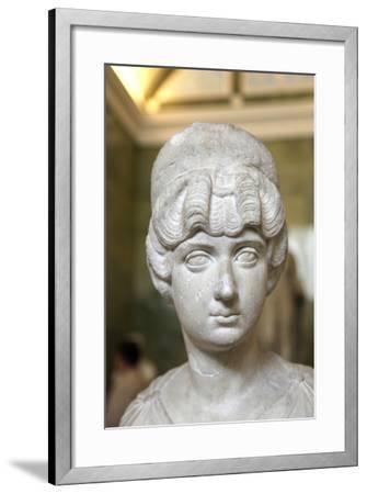 Portrait Bust of Lucilla, Wife of the Roman Emperor Lucius Verus, C160-C170--Framed Photographic Print