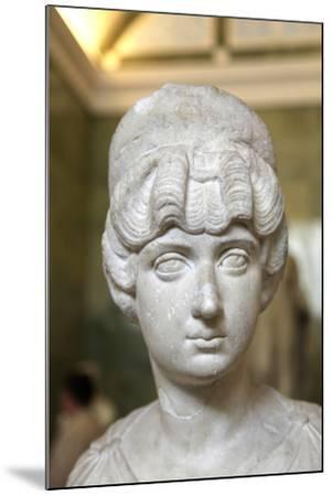 Portrait Bust of Lucilla, Wife of the Roman Emperor Lucius Verus, C160-C170--Mounted Photographic Print