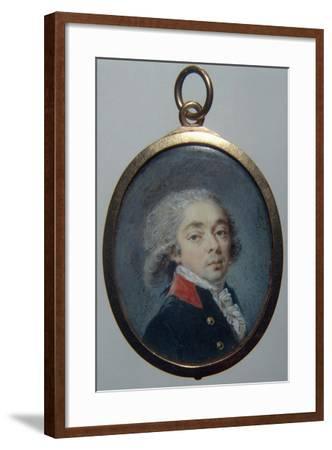 Portrait of Count Ivan Apraxin, C. 1796-Augustin Christian Ritt-Framed Photographic Print
