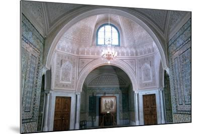The Virgil Room, Bardo Museum, Tunisia--Mounted Photographic Print
