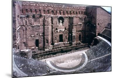 Roman Theatre at Orange, France--Mounted Photographic Print