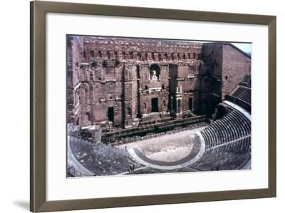 Roman Theatre at Orange, France--Framed Photographic Print