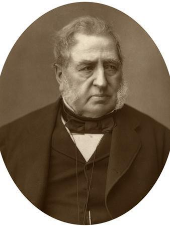 Sir Richard Malins, Politician and Jurist, 1882-Lock & Whitfield-Framed Photographic Print