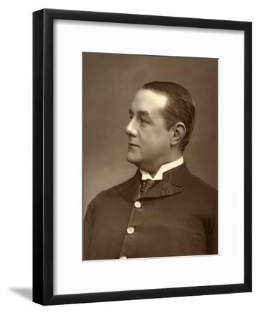 Gilbert Farquhar, British Actor, 1887-Ernest Barraud-Framed Photographic Print