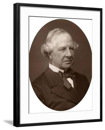 Earl Granville, Secretary of State for Foreign Affairs, 1882-Lock & Whitfield-Framed Photographic Print