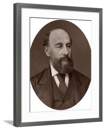 Sir George Strong Nares, Arctic Explorer, 1878-Lock & Whitfield-Framed Photographic Print