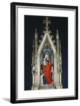 Virgin and Child, St Ursula Shrine, 1489-Hans Memling-Framed Photographic Print