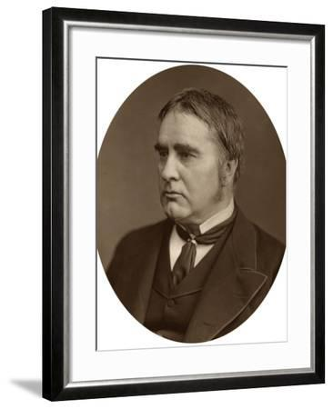 Sir William Withey Gull, 1878-Lock & Whitfield-Framed Photographic Print