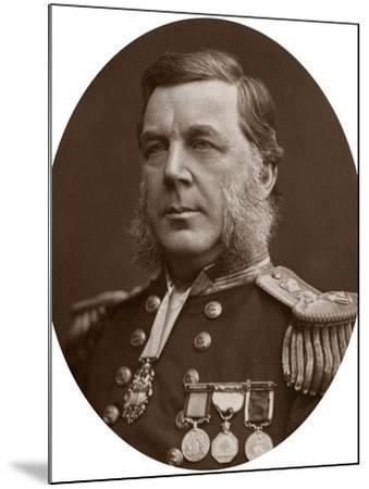Captain Bedford Clapperton Trevelyan Pim, British Naval Officer, 1883-Lock & Whitfield-Mounted Photographic Print