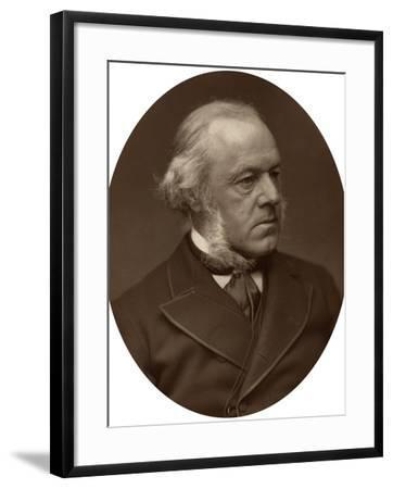 Henry Austin Bruce, 1st Baron Aberdare, Statesman, 1882-Lock & Whitfield-Framed Photographic Print