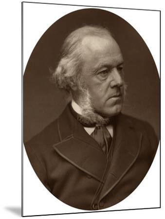 Henry Austin Bruce, 1st Baron Aberdare, Statesman, 1882-Lock & Whitfield-Mounted Photographic Print