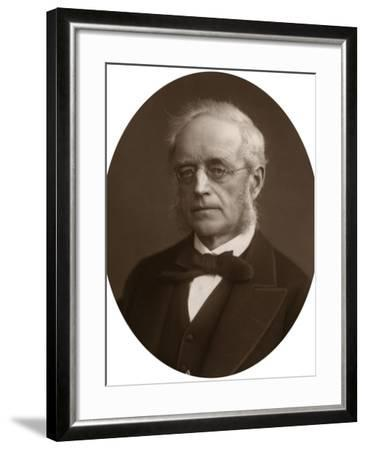Sir Henry Cotton, Lord Justice of Appeal, 1881-Lock & Whitfield-Framed Photographic Print