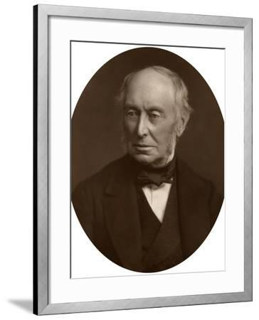 Samuel Morley, Mp, Industrialist and Politician, 1882-Lock & Whitfield-Framed Photographic Print