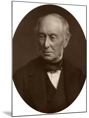 Samuel Morley, Mp, Industrialist and Politician, 1882-Lock & Whitfield-Mounted Photographic Print
