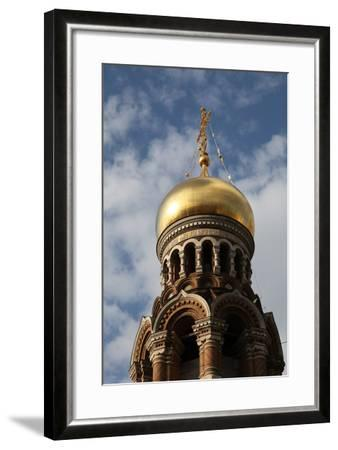Onion Dome, Church of the Saviour on Blood, St Petersburg, Russia, 2011-Sheldon Marshall-Framed Photographic Print