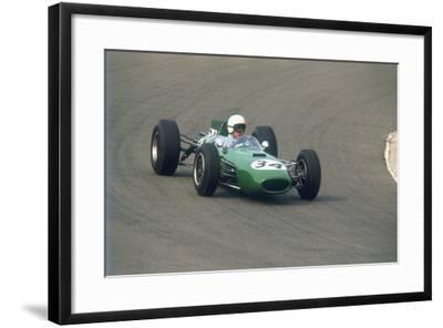 Bob Anderson Driving a Brabham Climax, Dutch Grand Prix, Zandvoort, Holland, 1964--Framed Photographic Print