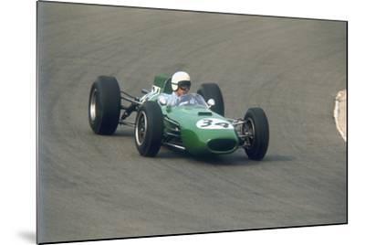 Bob Anderson Driving a Brabham Climax, Dutch Grand Prix, Zandvoort, Holland, 1964--Mounted Photographic Print