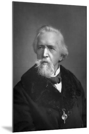 George Jacob Holyoake (1817-190), English Secularist, 1893-W&d Downey-Mounted Photographic Print