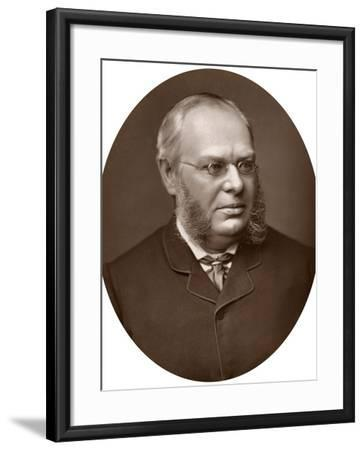 Hon Sir Lewis William Cave, Judge of the High Court of Justice, 1883-Lock & Whitfield-Framed Photographic Print