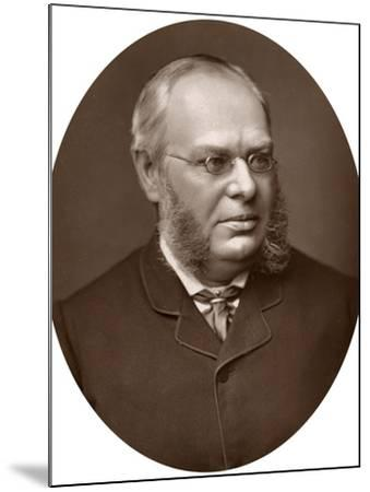 Hon Sir Lewis William Cave, Judge of the High Court of Justice, 1883-Lock & Whitfield-Mounted Photographic Print