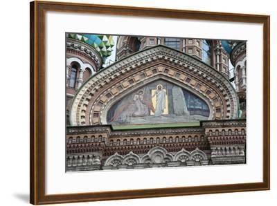 Church of the Saviour on Blood, St Petersburg, Russia, 2011-Sheldon Marshall-Framed Photographic Print
