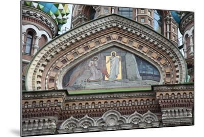 Church of the Saviour on Blood, St Petersburg, Russia, 2011-Sheldon Marshall-Mounted Photographic Print