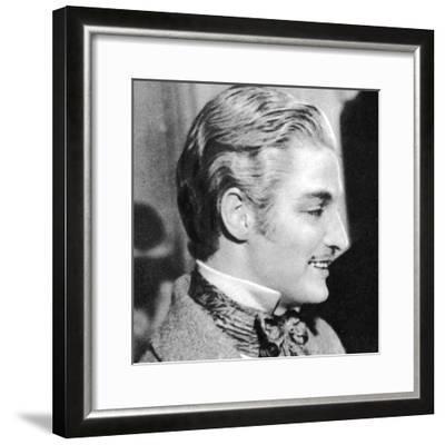 Robert Donat, English Actor, 1934-1935--Framed Photographic Print