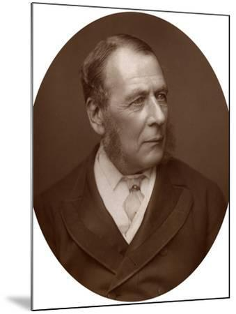 William Ballantine, Serjeant-At-Law, 1882-Lock & Whitfield-Mounted Photographic Print