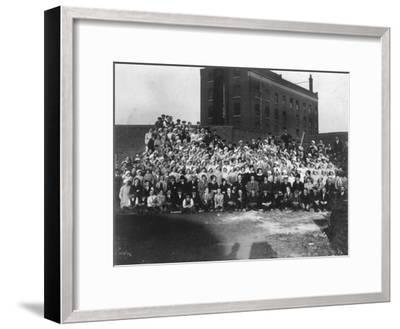 Munitions Factory Workers, London, World War I, 1914-1918- Haua-Framed Photographic Print