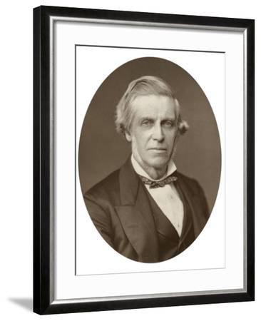 William Bowman, English Anatomist, Surgeon and Ophthalmologist, 1880-Lock & Whitfield-Framed Photographic Print