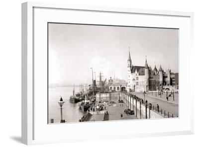 Antwerp, 1898-James Batkin-Framed Photographic Print