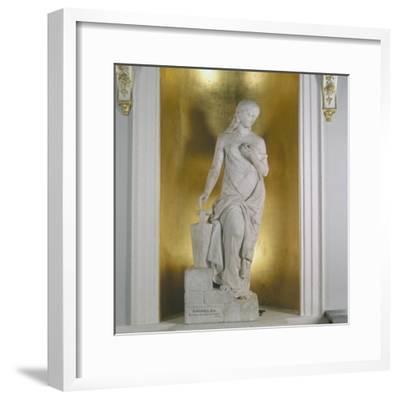 Griselda. 1855-William Calder Marshall-Framed Photographic Print