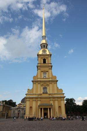 Bell Tower, Peter and Paul Cathedral, St Petersburg, Russia, 2011-Sheldon Marshall-Framed Photographic Print