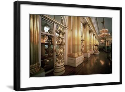The Heraldic Hall in the Winter Palace, 1839-Vasily Stasov-Framed Photographic Print