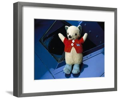 Mr Whoppit, Donald Campbell's Mascot--Framed Photographic Print