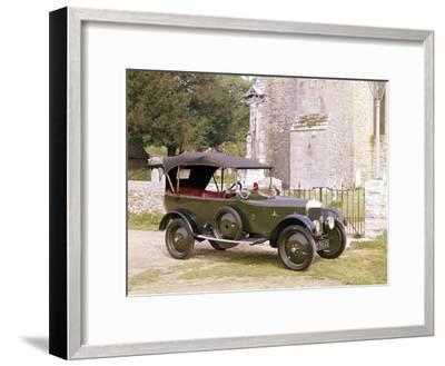 A 1921 Ac 11.9Hp--Framed Photographic Print