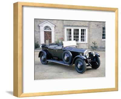 A 1925 Rolls-Royce Phantom I--Framed Photographic Print