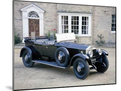 A 1925 Rolls-Royce Phantom I--Mounted Photographic Print