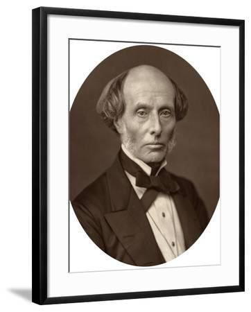 Sir Henry Manisty, Judge of the High Court of Justice, 1880-Lock & Whitfield-Framed Photographic Print