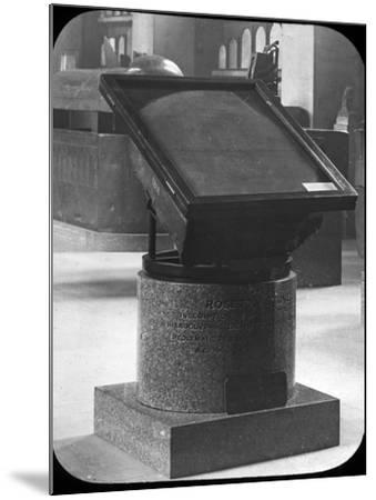 The Rosetta Stone, British Museum, London, C1890-Newton & Co-Mounted Photographic Print