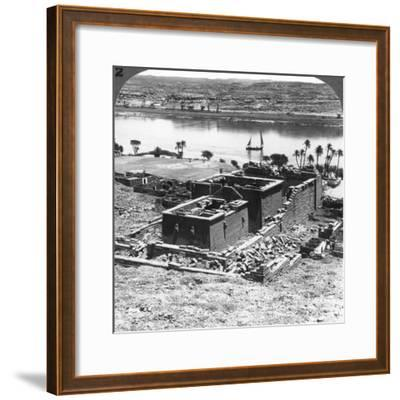 The Nubian Temple of Kalabsheh, Egypt, 1905-Underwood & Underwood-Framed Photographic Print