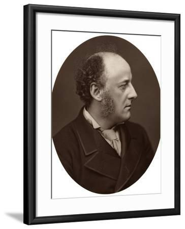 Je Millais, Ra, British Artist and Founder Member of the Pre-Raphaelite Brotherhood, 1876-Lock & Whitfield-Framed Photographic Print