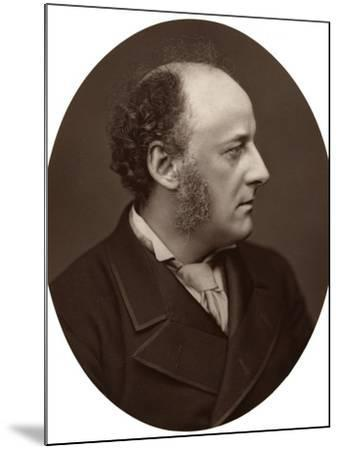 Je Millais, Ra, British Artist and Founder Member of the Pre-Raphaelite Brotherhood, 1876-Lock & Whitfield-Mounted Photographic Print