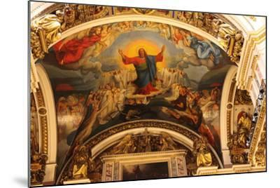 Ceiling, St Isaac's Cathedral, St Petersburg, Russia, 2011-Sheldon Marshall-Mounted Photographic Print