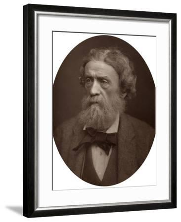 Charles Thomas Newton, Cb, Dcl, Professor of Archeology at University College London, 1883-Lock & Whitfield-Framed Photographic Print
